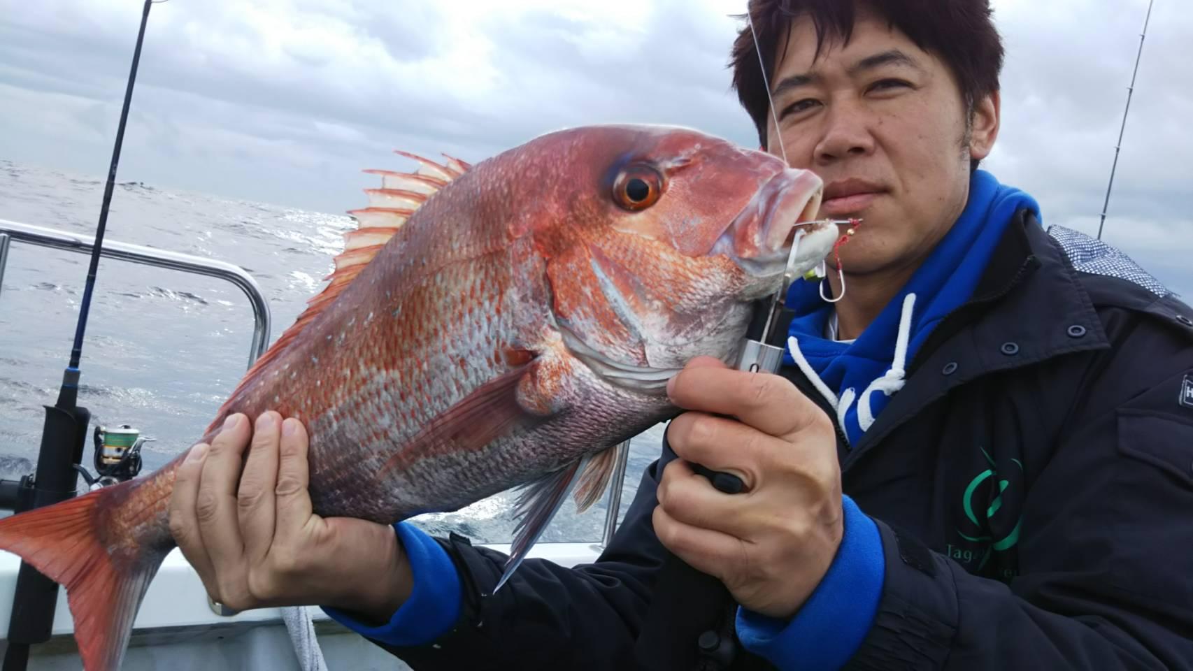 宮城の真鯛釣り遊漁船