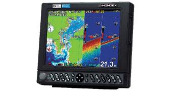 ホンデックス 魚群探知機 買取の画像