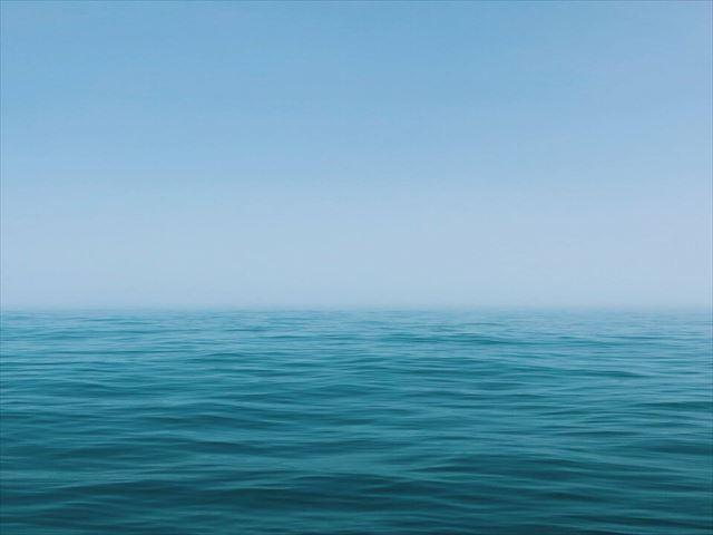 宮城県牡鹿半島の海の画像