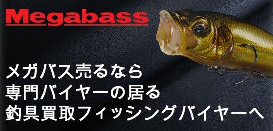 メガバス買取なら高額査定の出来る釣具専門店フィッシングバイヤーへ画像