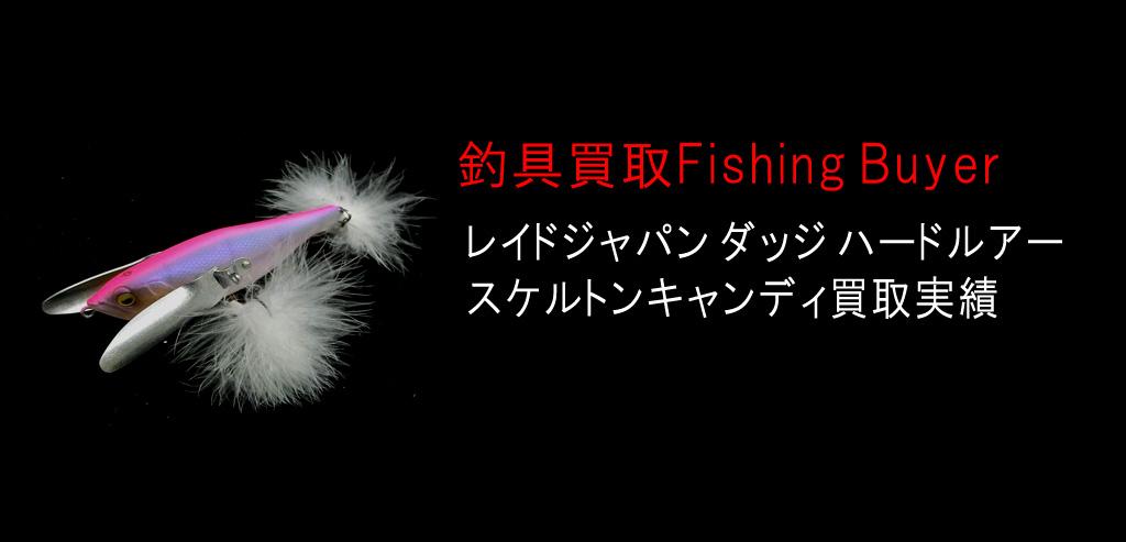 レイドジャパン ダッジ ハードルアー スケルトンキャンディ買取実績の画像